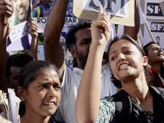 JNU Students Protest In Delhi Over Rohith Vemula Suicide