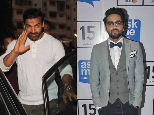 John Abraham Wants to Make a Film With Ayushmann Khurrana 'Soon'