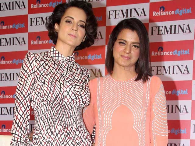 Kangana Ranaut Opens up About Sister's Battle With Acid Attack