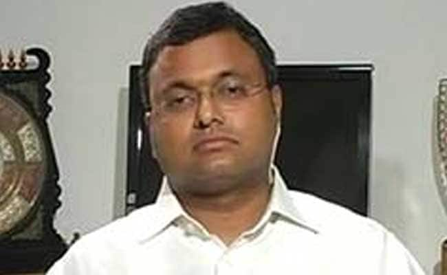 Went overseas only for college admission of daughter: Karti