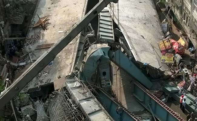 PM Modi Expresses Shock And Sadness Over Kolkata Flyover Collapse