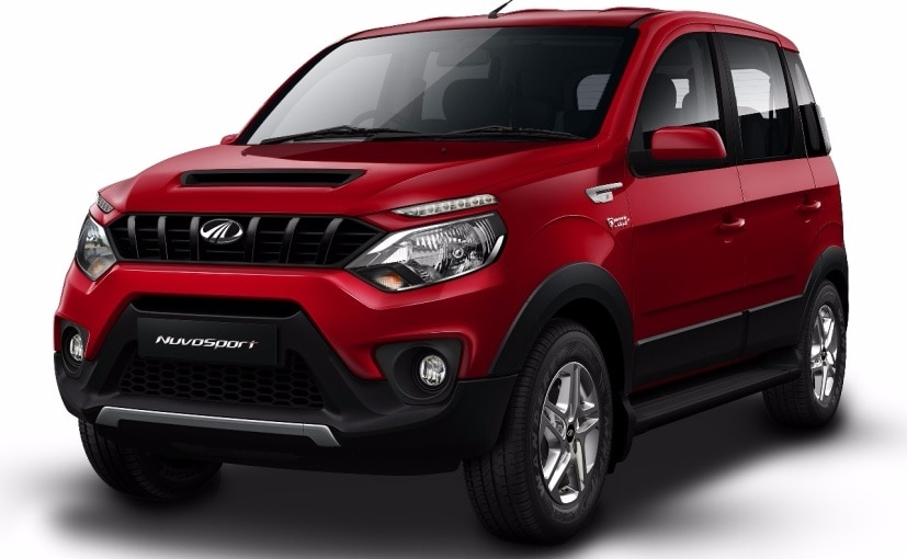 Mahindra NuvoSport to Be Launched Today