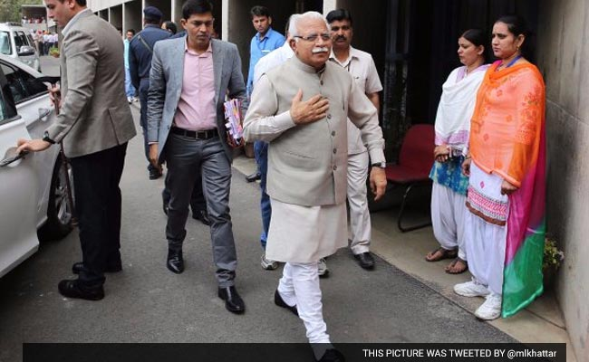 'Individual Case': Haryana Chief Minister On Arrest Of BJP Leader's Son