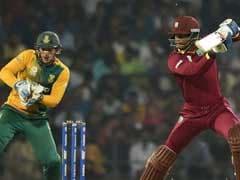 वर्ल्ड टी-20 : दक्षिण अफ्रीका पर रोमांचक जीत से वेस्टइंडीज सेमीफाइनल में