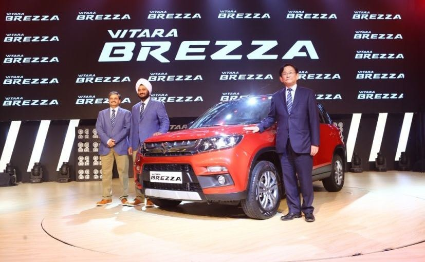 Maruti Suzuki Vitara Brezza Launched In India Prices