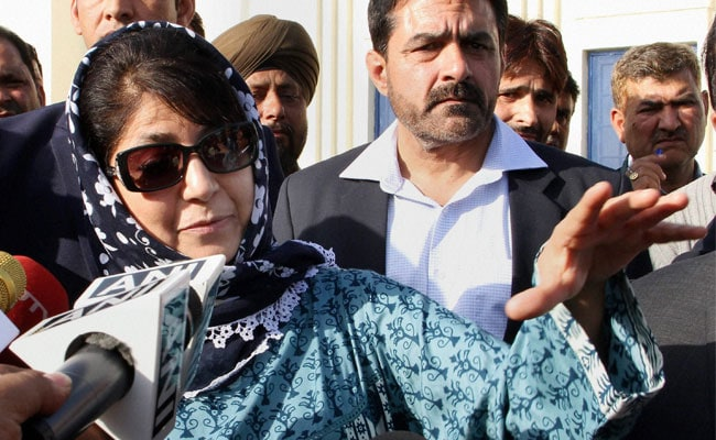 Mehbooba Mufti To Take Oath As Chief Minister On April 4: Sources