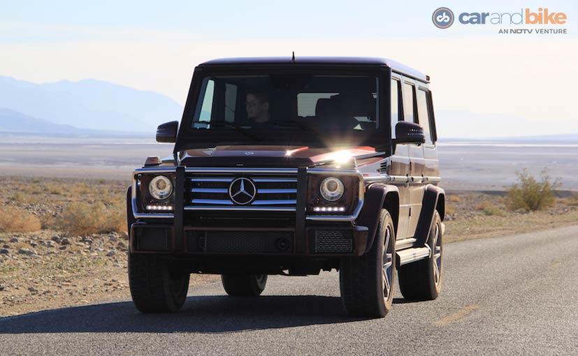 Mercedes-Benz G500 Front