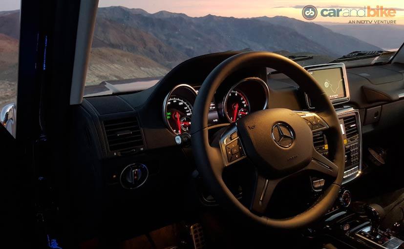 Mercedes-Benz G500 Interior