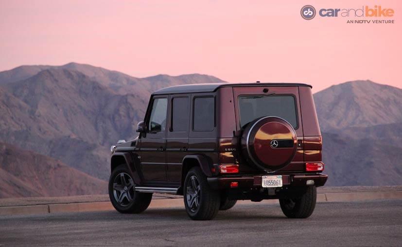 Mercedes-Benz G500 Rear Profile