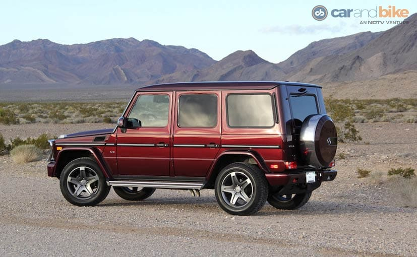 Exclusive 2016 mercedes benz g500 first drive ndtv for Mercedes benz g500