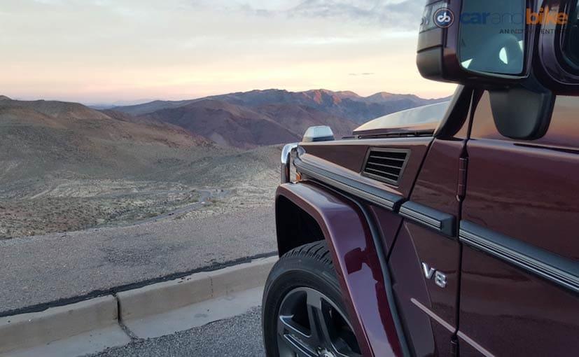 Mercedes-Benz G500 V6 Engine