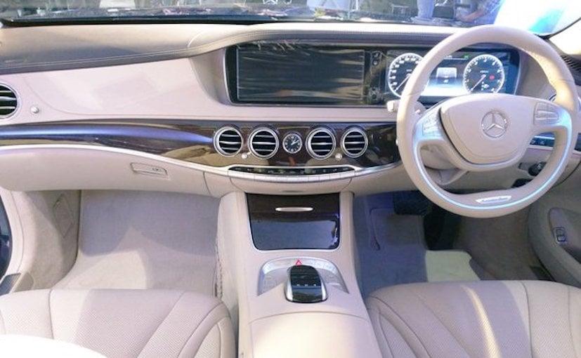 Mercedes Benz S400 Interior