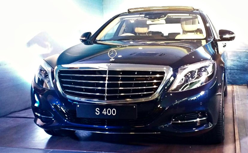 Mercedes benz s400 launched in india priced at rs for Mercedes benz hybrid cars