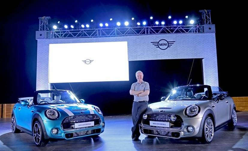 MINI Convertible Launched in India; Priced at ₹ 34.9 Lakh
