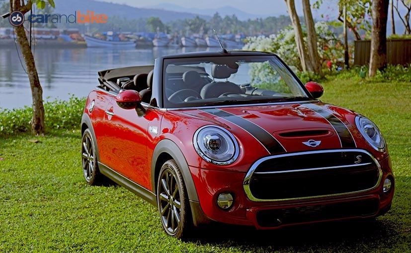 first drive mini cooper s convertible ndtv carandbike. Black Bedroom Furniture Sets. Home Design Ideas