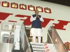 A New Look For PM Modi's Air India One Crew: Khadi Saris, Bandhgalas