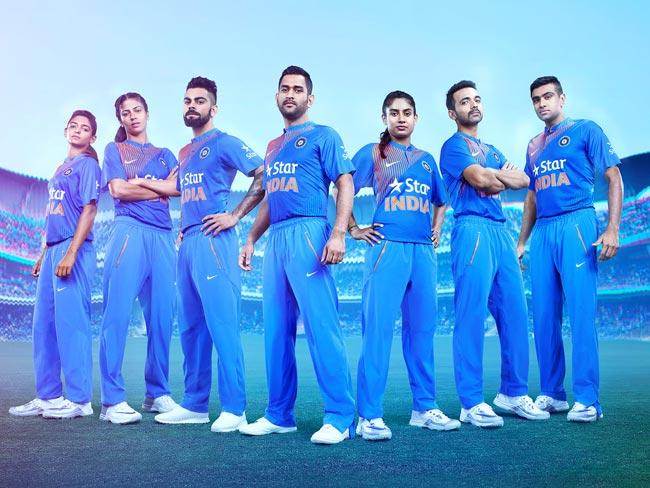 टी-20 वर्ल्ड कप के दौरान इस नई स्टाइलिश जर्सी में नज़र आएगी टीम इंडिया