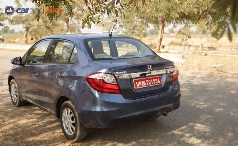 New Honda Amaze Rear
