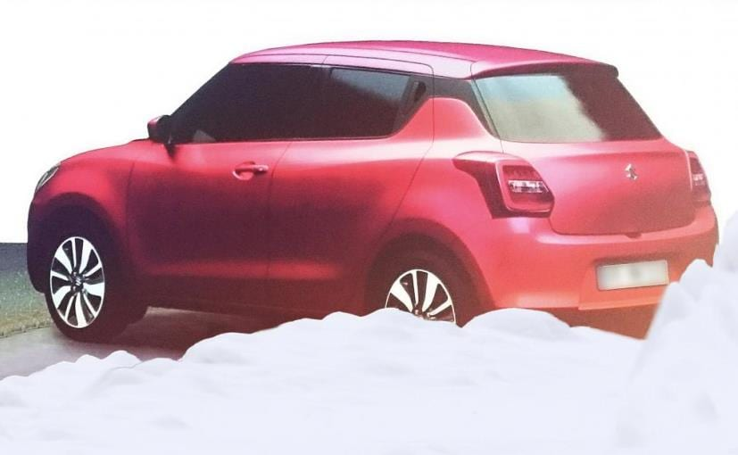New Maruti Suzuki Swift Rendering
