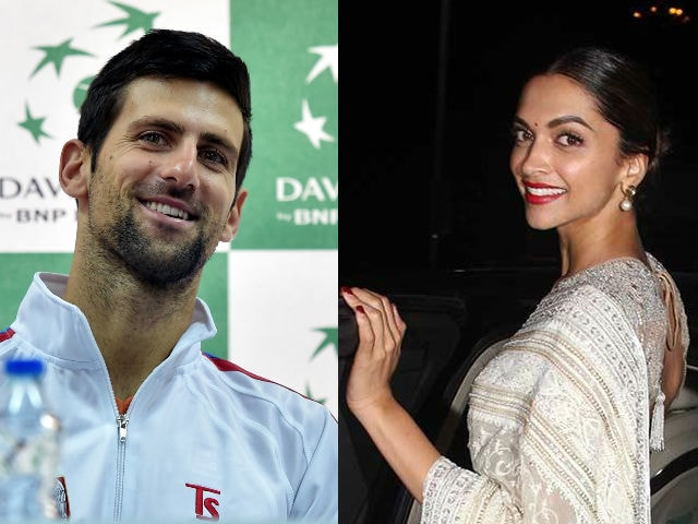 Djokovic's 'Female Companion': Foreign Media Fails to Recognise Deepika