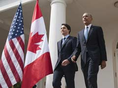 Barack Obama Welcomes 'Quite Good-Looking' Justin Trudeau To White House