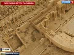 Heavy Russian Airstrikes As Syrian Army Fights ISIS In Palmyra
