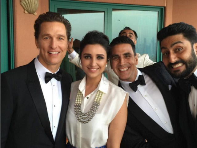 What Parineeti, Akshay, Abhishek Did After Meeting Matthew McConaughey
