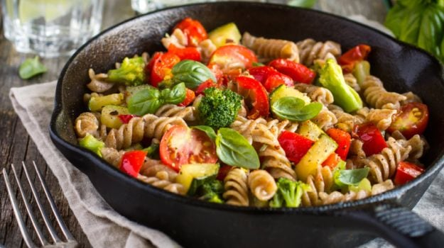 Top 10 veg recipes under 30 minutes ndtv food pasta in mushroom sauce forumfinder Gallery