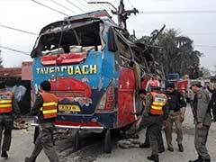 At Least 16 Killed, 24 Injured In Bus Blast In Pakistan's Peshawar