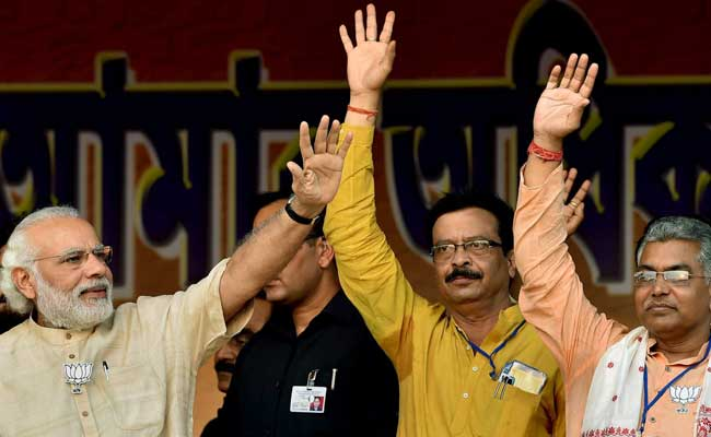 Campaign Against Trinamool, NRC Paid Off: Bengal BJP On Membership Drive