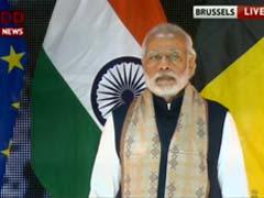 भारत आतंकवाद के सामने कभी झुका नहीं और झुकने का सवाल ही नहीं उठता : ब्रसेल्स में पीएम मोदी
