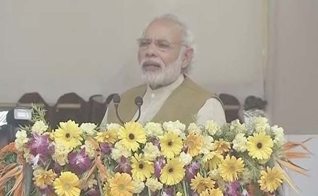 PM Modi Inaugurates Railway Project, Says Bihar's Growth Is Priority: Highlights