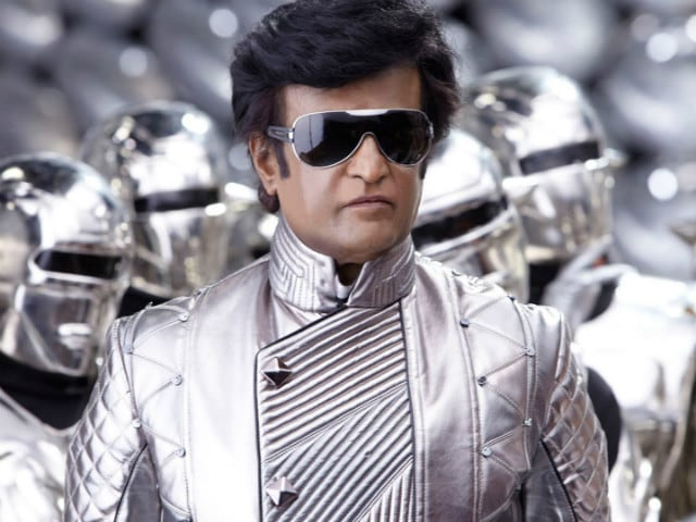 Rajinikanth is in Delhi for 2.0. Next Stop Morocco