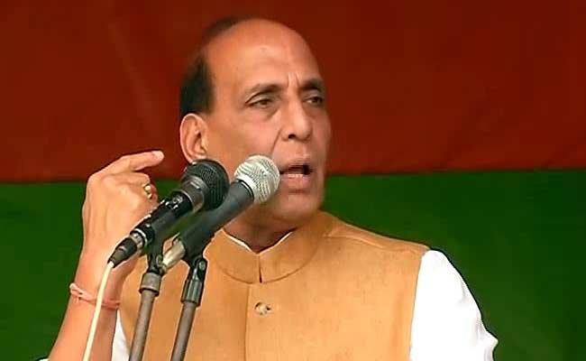 NDA Government Will Stop Infiltration From Bangladesh Into Assam: Rajnath Singh
