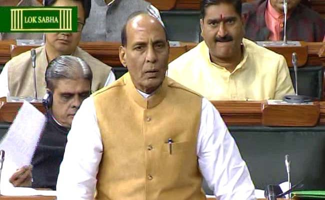Ishrat Jehan Documents Missing, Says Rajnath Singh