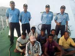 तस्वीरों में : शाबाश! उफनते समंदर में जान पर खेलकर दल ने बचायी 7 मछुआरों की जान