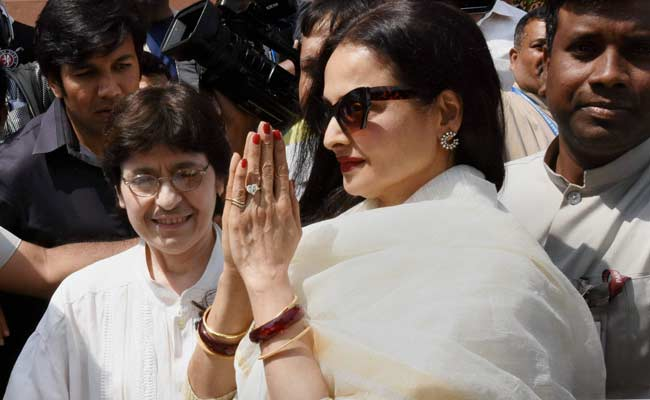Actress Rekha Gives Rs 2.5 Crore From Her Madhya Pradesh Funds To Rae Bareli