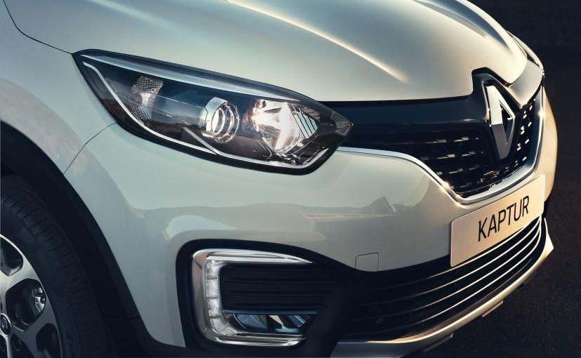 New Renault Kaptur Front