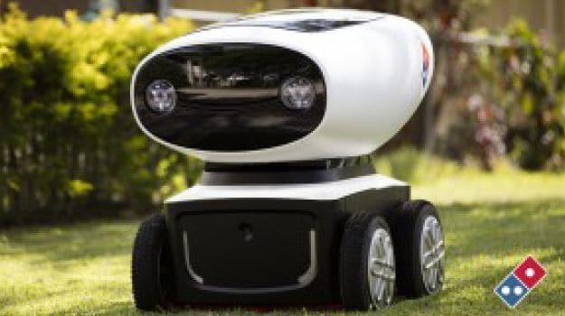 Domino's Has a Robot Delivering Pizzas in Australia!