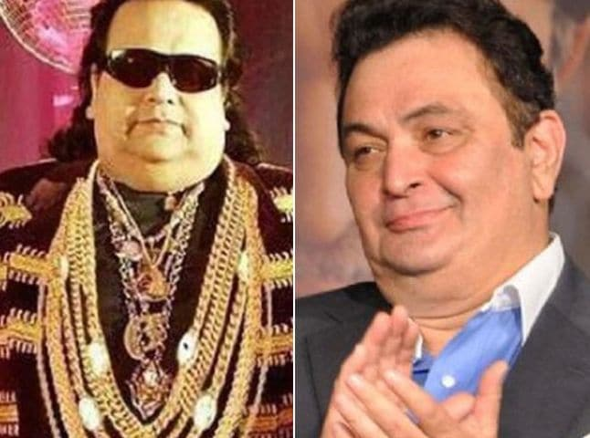 Rishi Kapoor's Tweet Means no Offence. Will Bappi Lahiri Take Any?