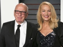 Rupert Murdoch Marries Jerry Hall in London