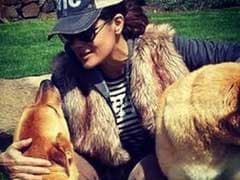 Salma Hayek's Dog Was Killed By Her Neighbor; Cops Say It Was Justified