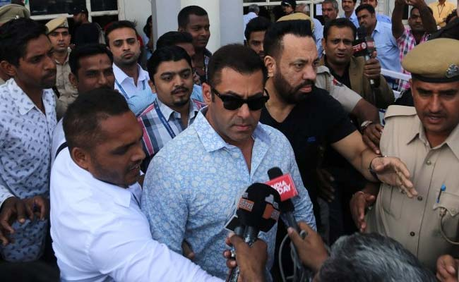 Salman Khan Claims Forest Officials Framed Him In Arms Act Case
