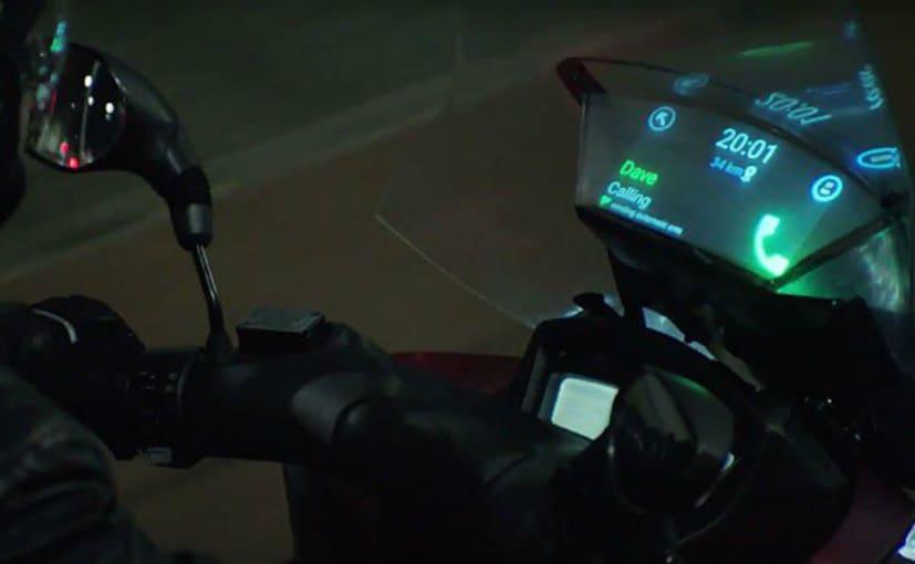 Samsung and Yamaha Develop Smart Windshield Concept