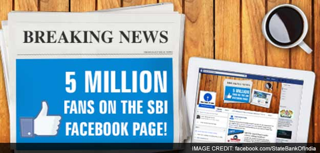 SBI claims to be the world's most 'followed' bank on Facebook