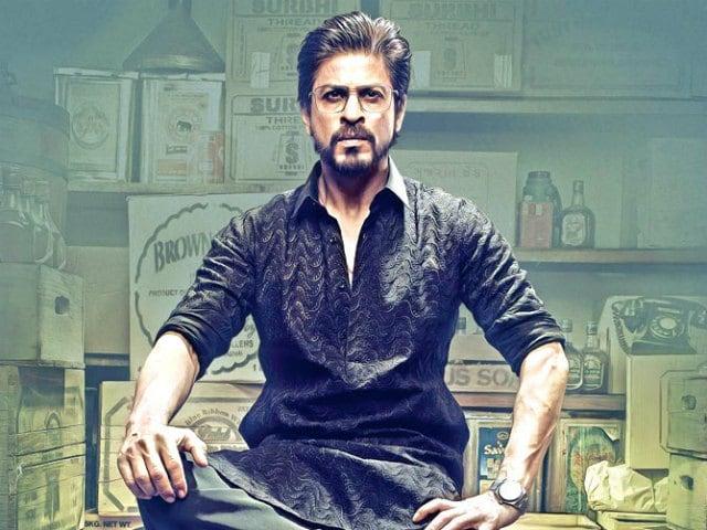 No, Seriously. Incredible 'Flying' Shah Rukh Khan in Raees Pic