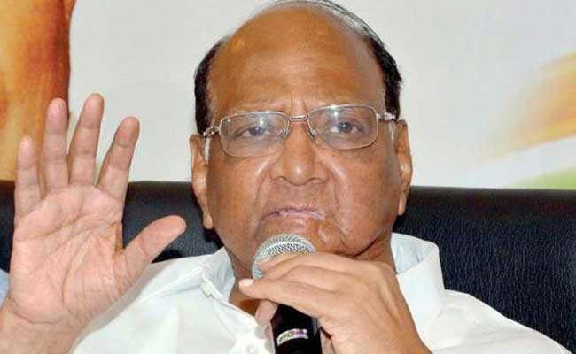 Sharad Pawar Slams Centre Over 'Unprepared' Notes Ban, GST Roll-Out