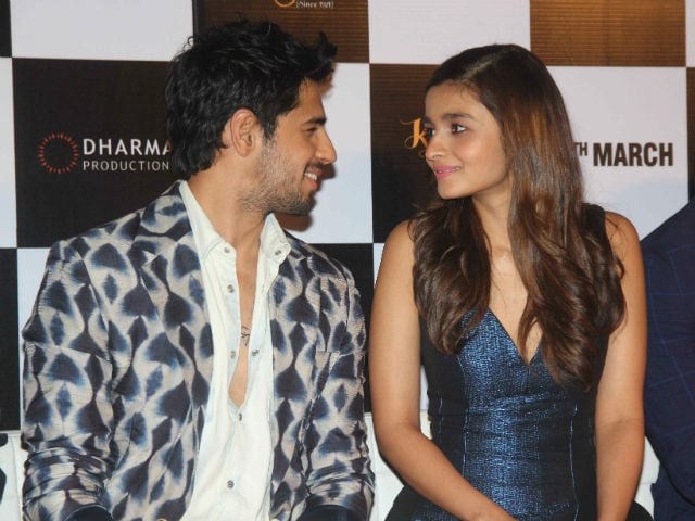 Sidharth Dating Alia? He Won't 'Waste His Energy' on Clarifications