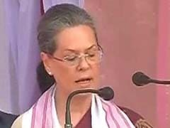 Vote For Congress, PM Modi Creating Divide Among People: Sonia Gandhi