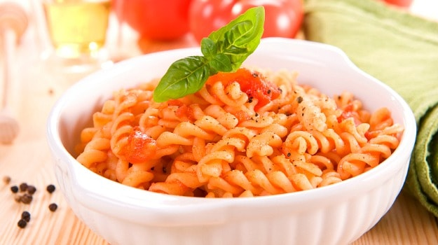 Red Sauce Chilli Pasta